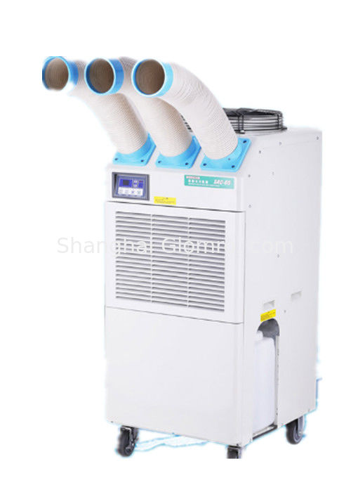 3 Ducts Industrial Mobile Air Conditioner , Flexible Portable Spot Cooler
