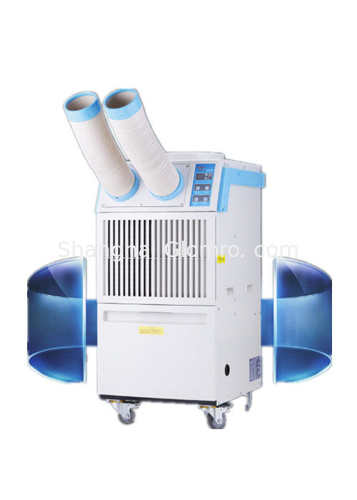 Low Energy Consumption Industrial Portable Aircon Lightweight With 2 Hoses